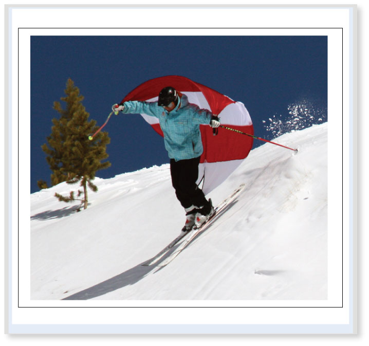 SPORTING-SAILS by Sukrafte - Downhill Skateboarding, Skiing & Snowboarding Sails