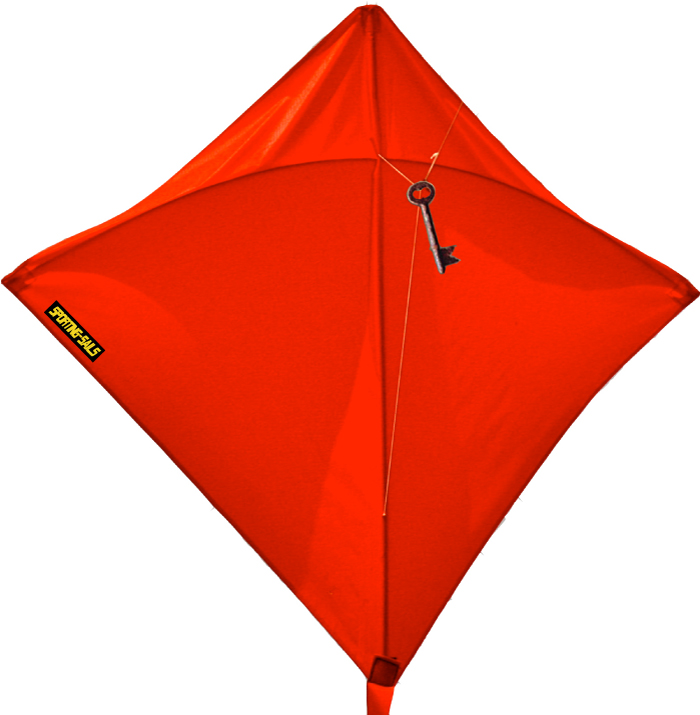 SPORTING-SAILS - Benjamin Franklin Skeleton Key Kite
