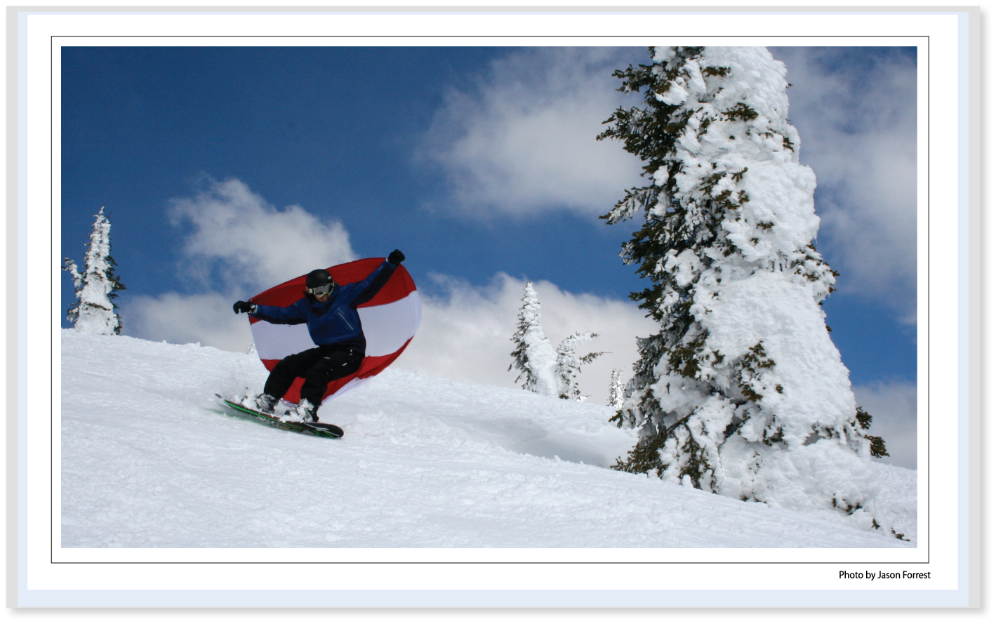 SPORTING-SAILS - Snowboarding Parachute Body-Sails